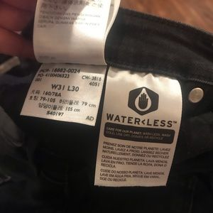 Levi's Jeans - Levi's black high rise skinny jeans